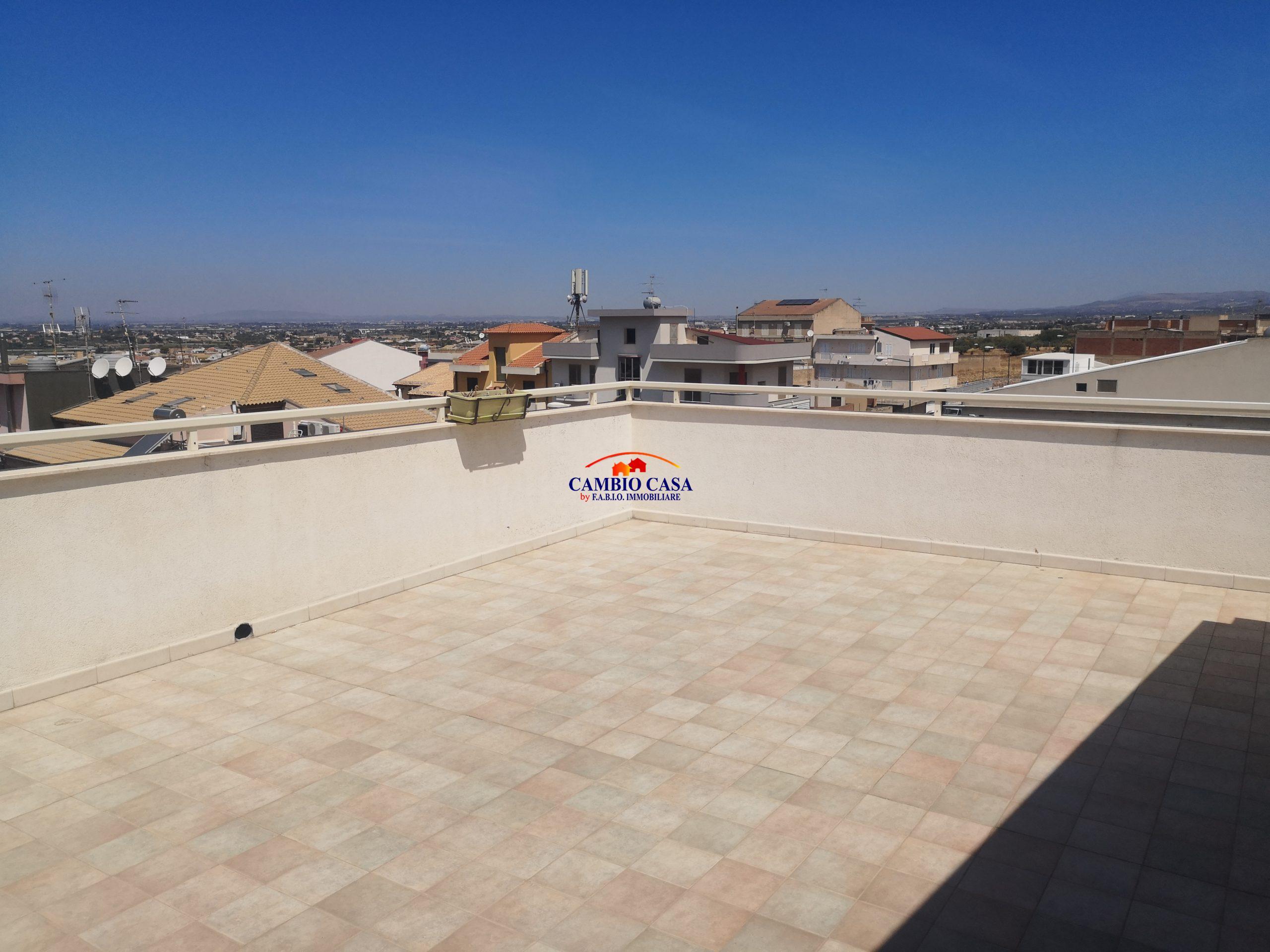 Comiso – Mansarda Arredata con terrazzo panoramico